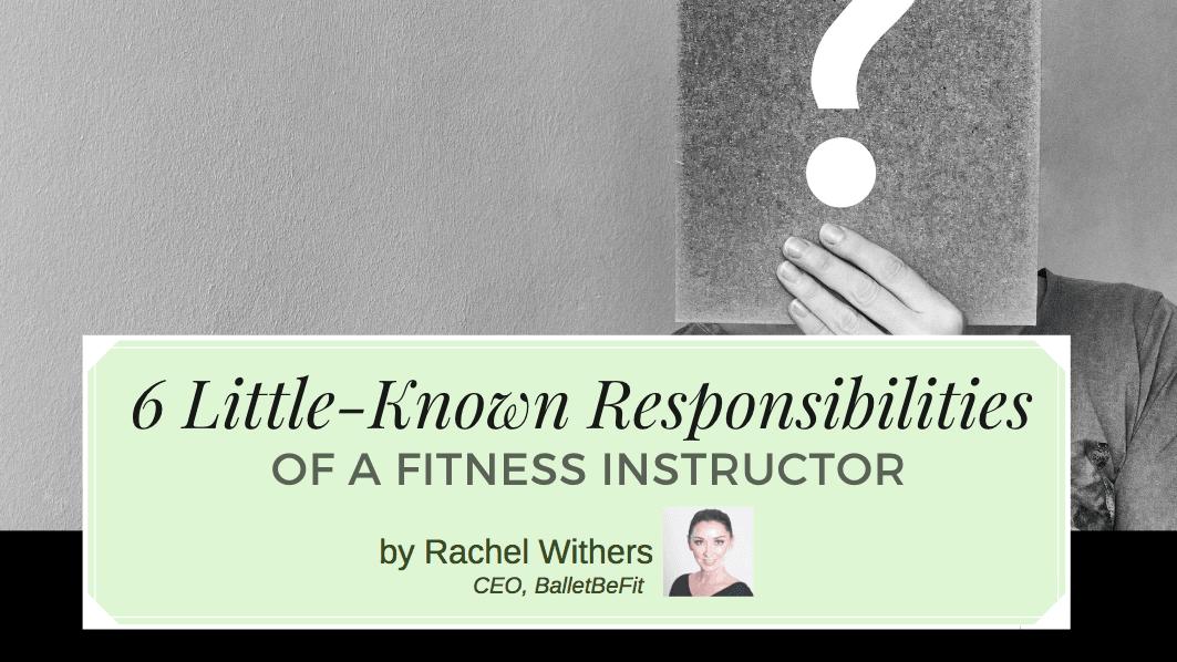 rachel withers fitpreneur responsibilities